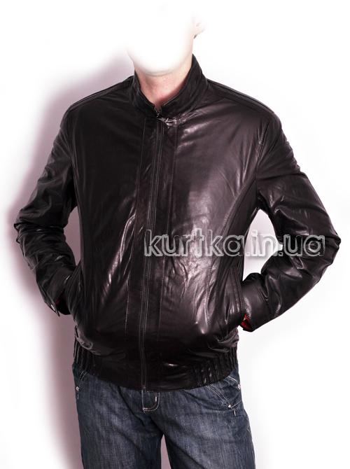 Купить Короткую Кожаную Куртку Мужскую На Резинке